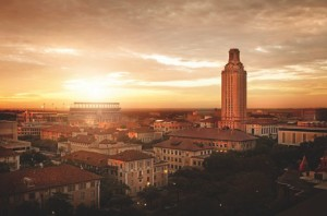University of Texas at Austin campus. Photo credit: news.utexas.edu