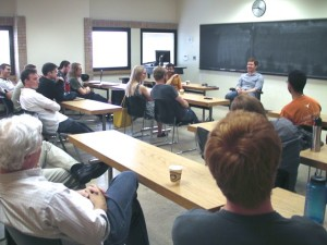 "Acoustical ""Ask Me Anything"" at ASA Student Chapter meeting"